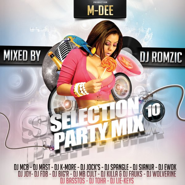 Selection Party Mix Volume 10 (2013)