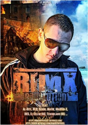Sortie de l'album de RIM'X ^^