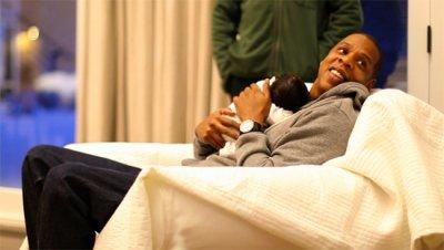 Découvrez les premières photos de Blue Ivy Carter, la fille de Beyoncé & de Jay-Z