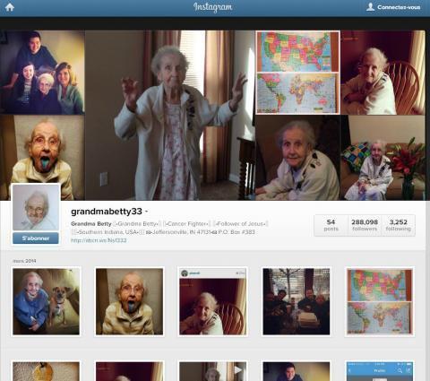 STAR : Voici Mamie Betty, la nouvelle star des réseaux sociaux