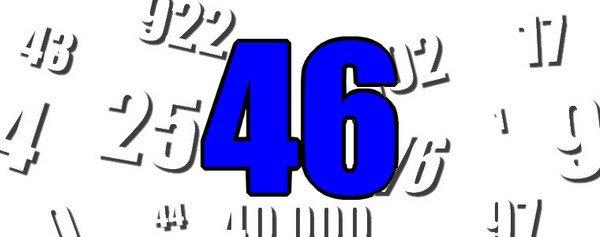 Le chiffre du jour : 46
