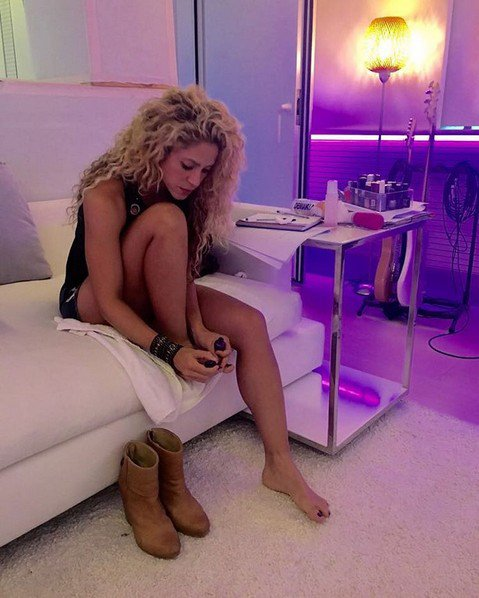 La photo buzz de Shakira