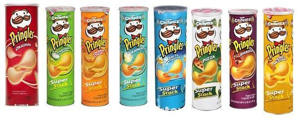 Il y a une vraie manière de manger les Pringles