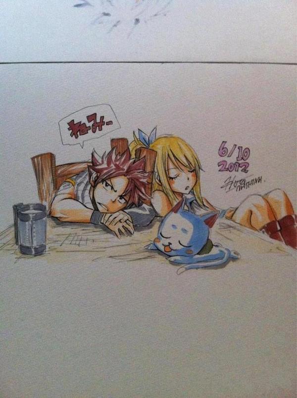 Quelques dessins d'Hiro Mashima ( partie 1 ~ ) ♪