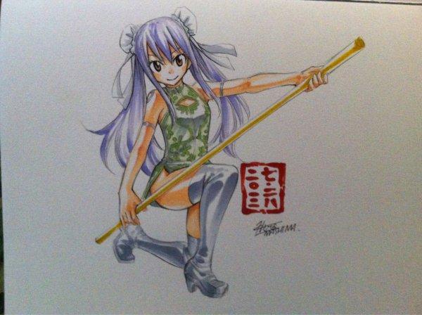 Quelques dessins d'Hiro Mashima ( partie 2 ~ ) ♪