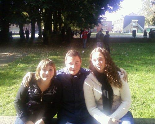 Celine, Kevin et moi