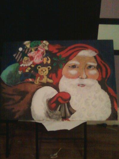 mes dernières peintures