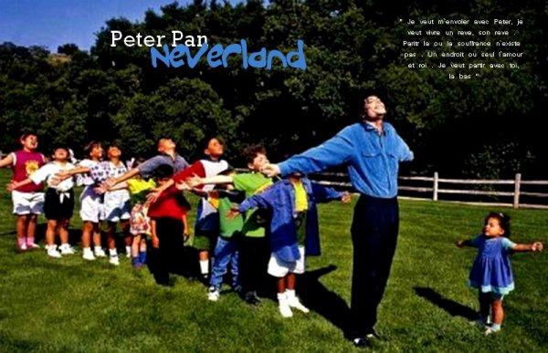 "."" Je n'aime pas Peter Pan, Je suis Peter Pan "" ."