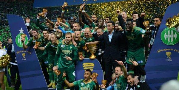 FRA - Coupe de la Ligue : Saint Etienne , enfin !