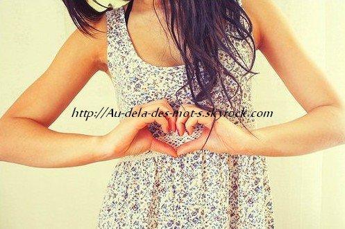 """"""" L'amour n'est qu'un mot, jusqu'à ce qu'on trouve une personne qui y donne un sens. """""""