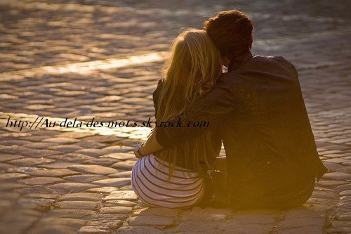 """"""" Compte les étoiles dans le ciel, et tu saura combien je t'aime. """""""