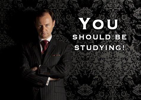 I'll study later...