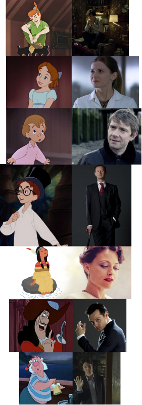 Sherlock version Walt Disney