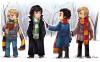 Sherlock et John vs Holmes et Watson version HP