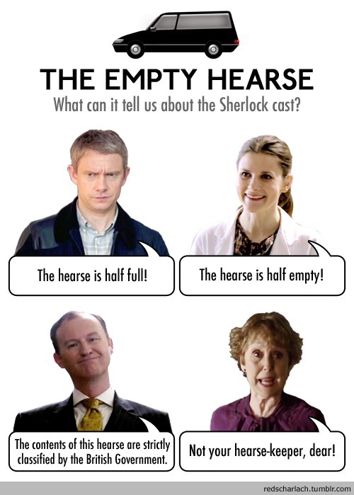The Empty Hearse : l'opinion du casting
