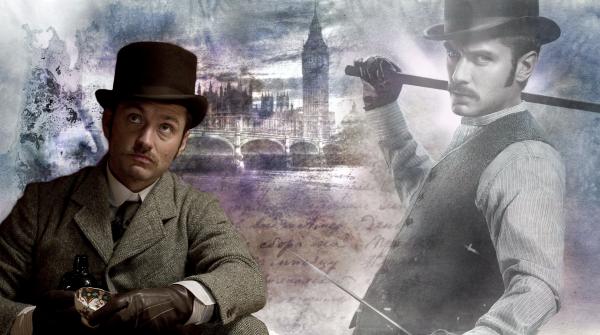 Montages Sherlock Holmes & Dr John Watson