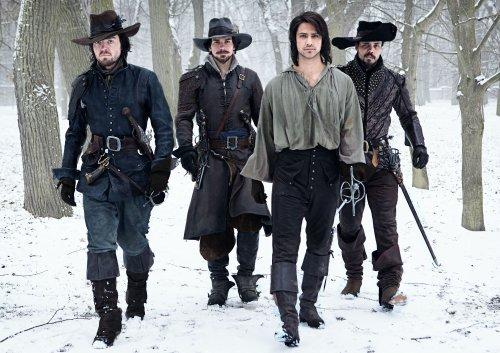 3e saison commandée pour The Musketeers