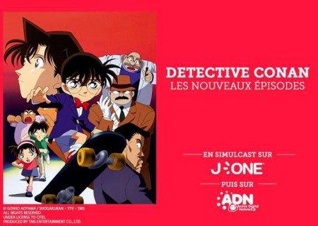 Conan arrive sur J-One et ADN