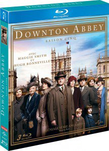 Downton Abbey S5 en DVD !