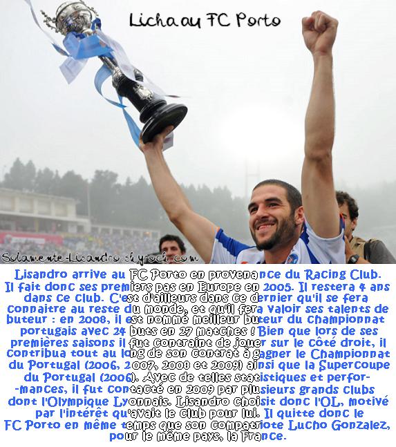 #07.  Lisandro au FC Porto