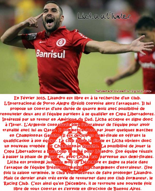 #10. Lisandro au Sports Club Internacional