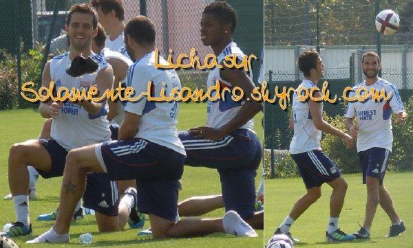 #39. Lisandro à l'entrainement :)