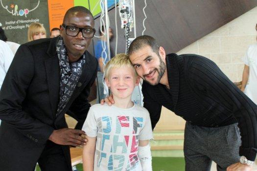 #49. Lisandro rend visite aux jeunes du centre Leon Berard.