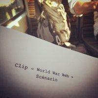 "Projet tournage du clip ""World War Web"""