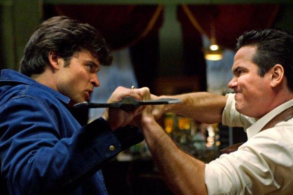 Dean Cain un passage dans Smallville