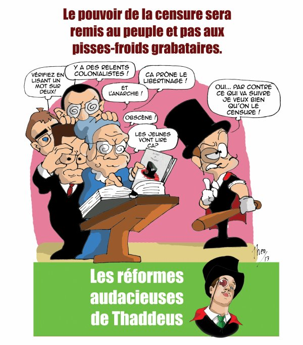 1) Censurons la censure !