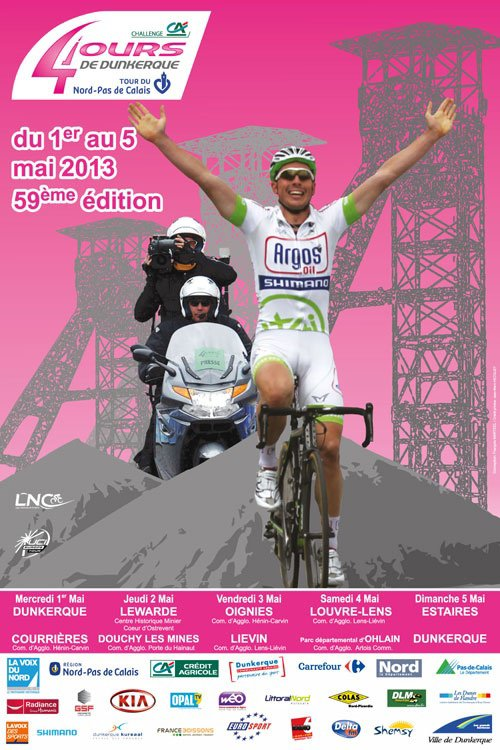 Watch Les 4 Jours de Dunkerque 2013 Live Streaming Cycling Online Broadcast
