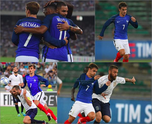 1er Septembre 2016 Italie - France