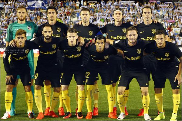 27 Août 2016 Leganés - Atletico