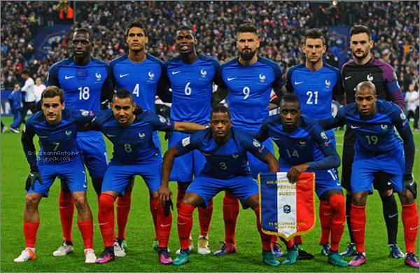 11 Novembre 2016 France - Suède
