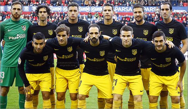 27 Novembre 2016 Osasuna - Atleti