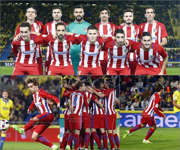 03 Janvier 2017 Las Palmas - Atletico