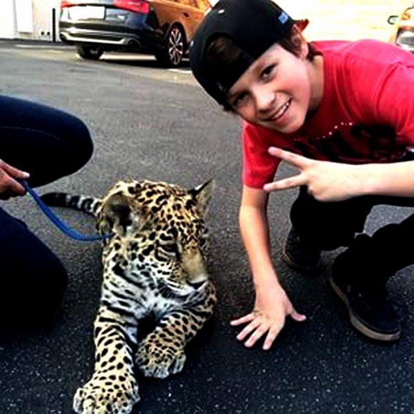 Hayden il aime les gros bébés minous cro-mignons :o