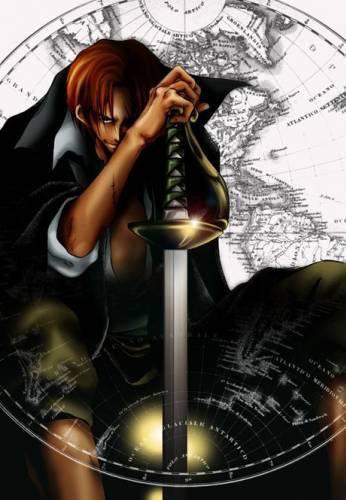 Shanks avec son épée