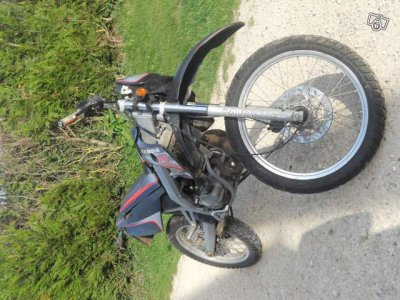 ma nouvelle moto derbi senda r x-treme