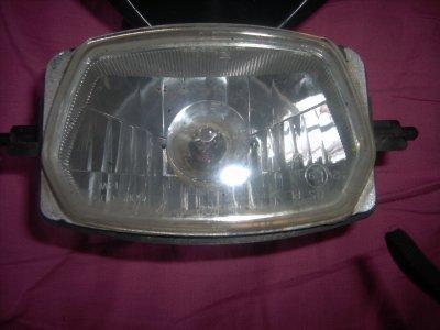 reparation  de ma plaque phare derbi origine