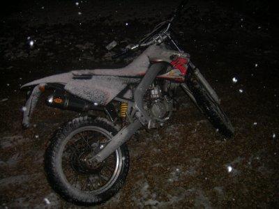 derbi sous la neige