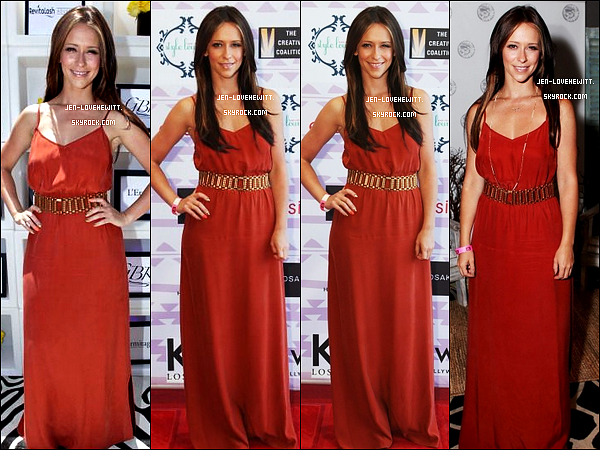 #Partie 2 - 01/06/12 : Jennifer s'est rendue aux Kari Feinstein's MTV Movie Awards Style Lounge à W.H.#