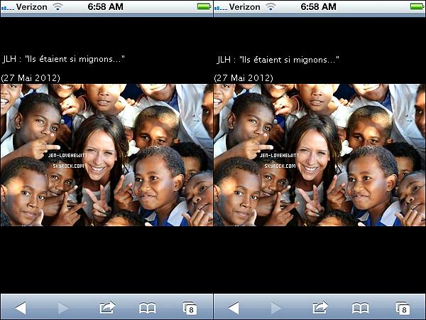 .. TWITTER .Les dernières photos twitter poster par Jennifer Love Hewitt  datant de mai/juin à aujourd'hui !.
