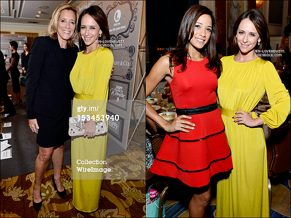 .05/10/12 :  Jennifer Love s'est rendue au « Variety's 4th annual Power of Women Event » à Beverly Hills..