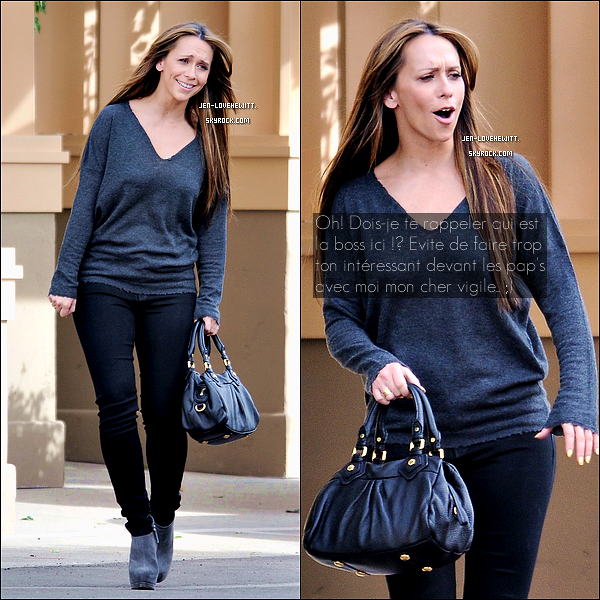 .14/11/12 : Jennifer Love Hewitt a été photographiée en plein tournage sur le set de sa série The Client List..