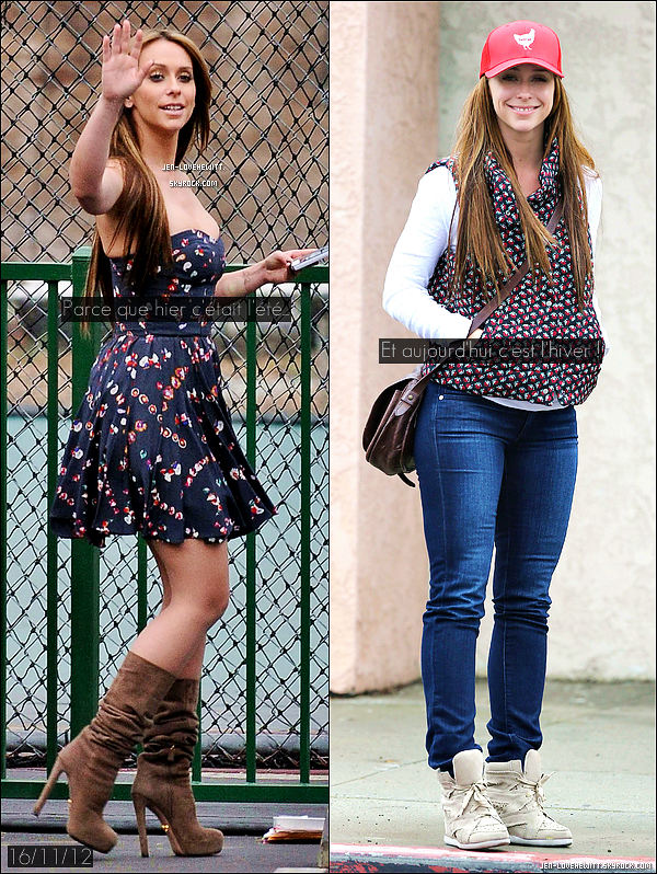 .17/11/12 : Jennifer a été vue alors qu'elle aller chercher à manger chez Spencer Makenzie's Fish Company..