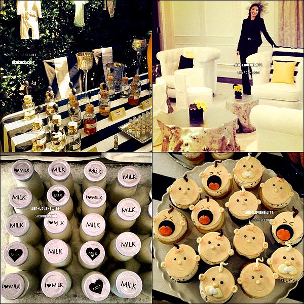 .12/10/13 : Jennifer Love Hewitt a été aperçue lors du jour de sa « babyshower » à l'hôtel « Bel-Air » à L.A..