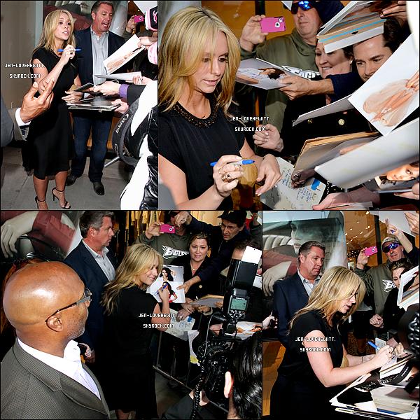 .01/04/14 : Jlove été au dîner organiser pour fêter le lancement de sa ligne de vêt. « L by J.L.H » à Beverly Hills. .