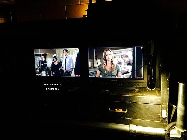 ..ESPRITSCRIMINELS. Découvrer quelques photos prise sur le tournage avec Jennifer.  .