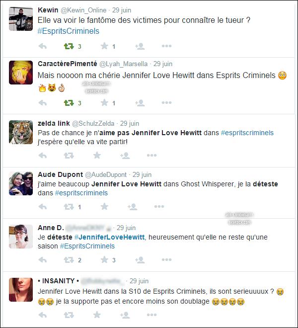 . La France 🇫🇷 sous le charme de Jennifer Love Hewitt lundi dernier sur TF1 ! (ou pas) .